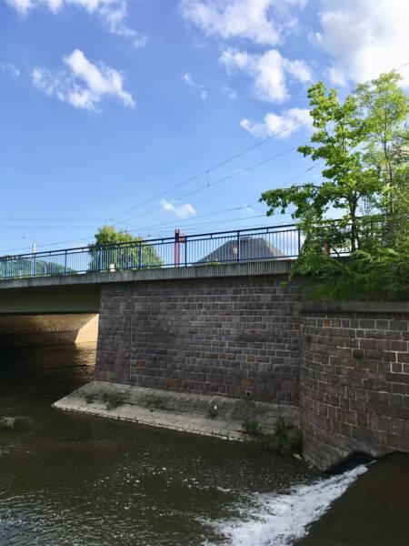 Sommerfeeling am Stadtstrand Plauen / Biergarten