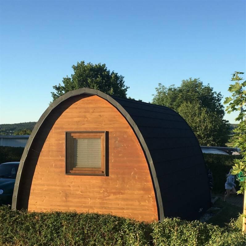 Camping Hütte an der Talsperre Pöhl mieten