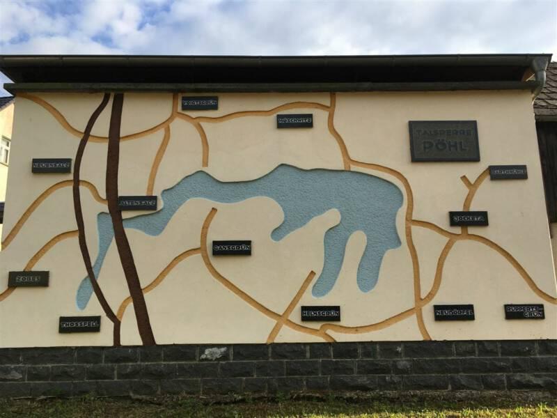 Ausflugsziel im Vogtland / Sachsen - Talsperre Pöhl
