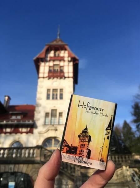 Ein schönes Souvenir aus Hof - die Stadt-Schokolade Hofgenuss