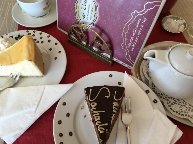 Hof / Bayern - Café Vetter - Kaffee, Torte und Kuchen