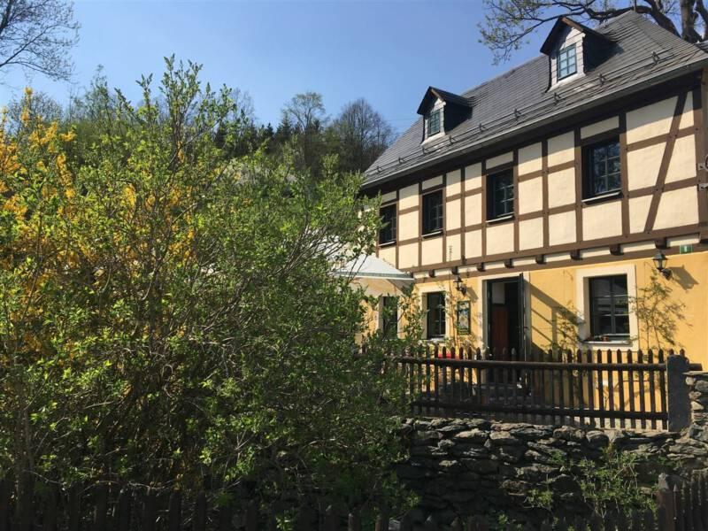 Wanderung durchs Burgsteingebiet / Vogtland / Sachsen Gasthof Ruderitz