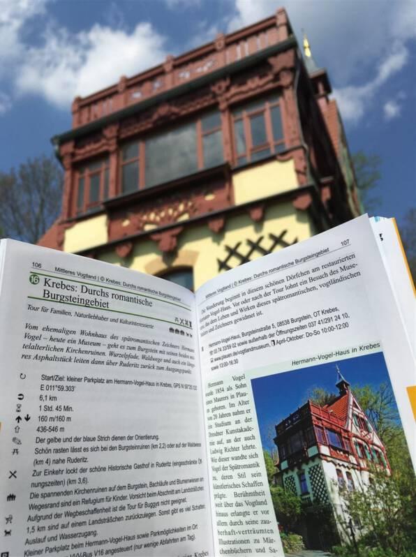 Wanderung durchs Burgsteingebiet / Vogtland / Sachsen Wanderführer Outdoor Regional Vogtland