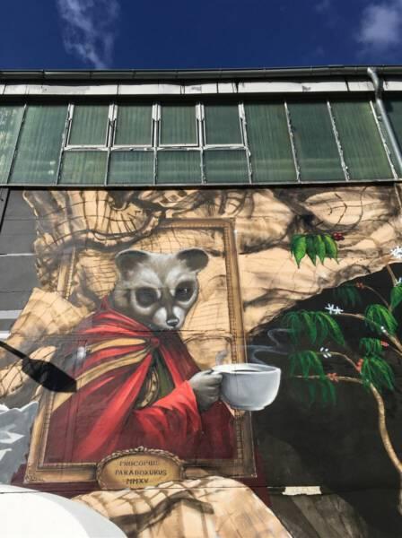 Street Art in Plauen, die zur IBUg 2015 in Plauen entstanden ist