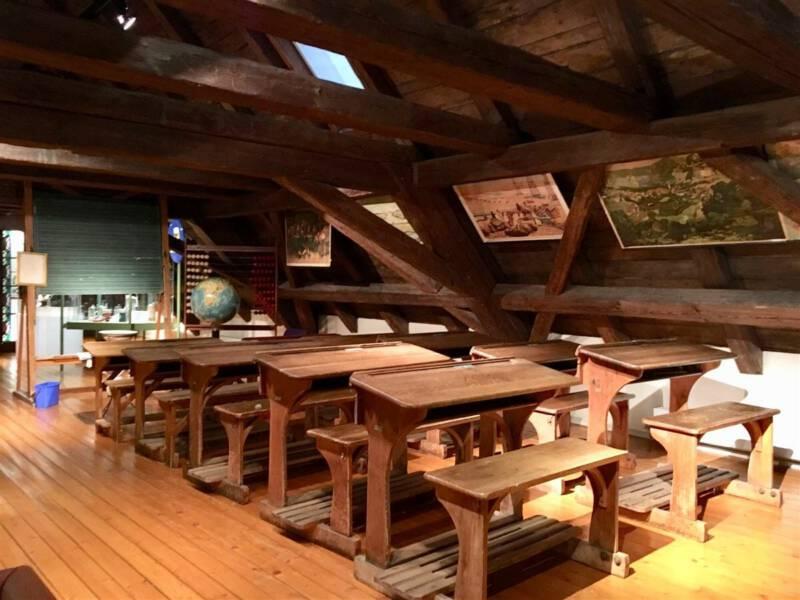 historisches Klassenzimmer Museum Bayerisches Vogtland in Hof