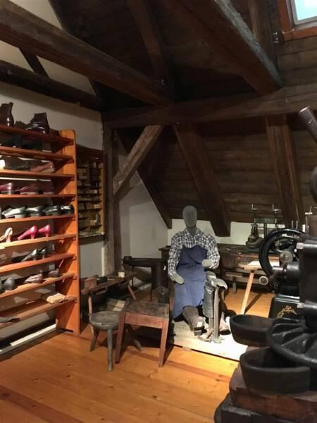 Schumacherwerkstatt Museum Bayerisches Vogtland in Hof