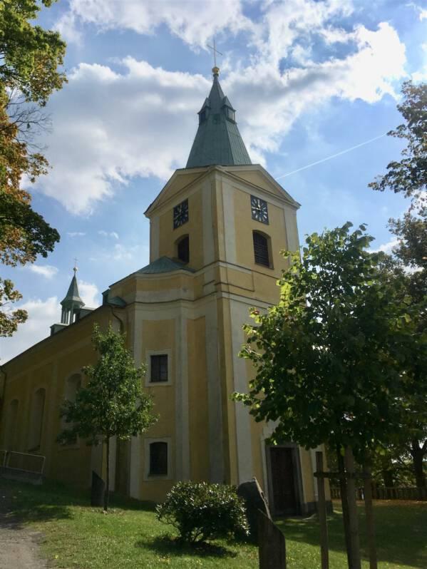 Kirche in Andelska Hora