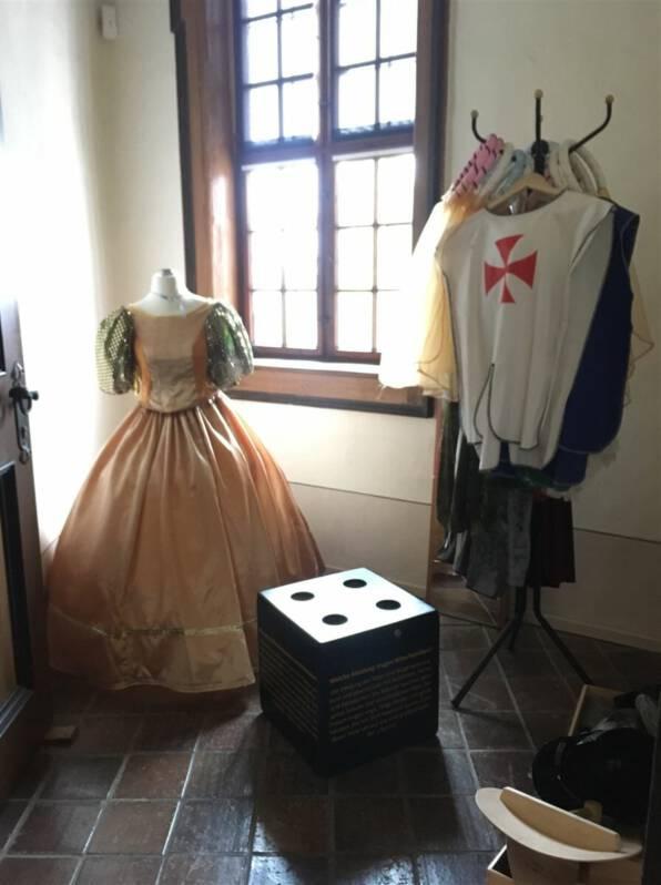 Ausflug mit Kindern in den Sommerferien  - Kinderburg Burg Posterstein in Thüringen