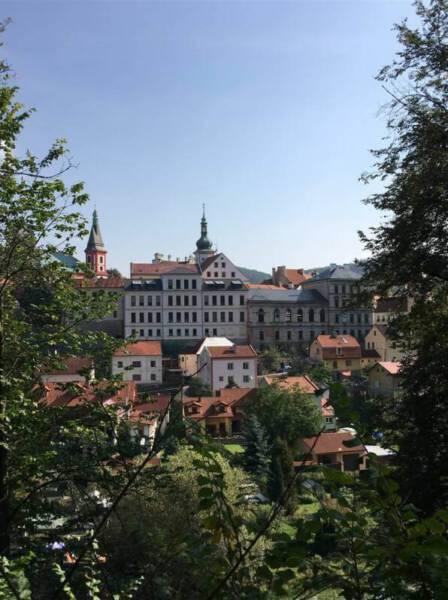 Ausflug nach Loket bei Karlsbad in Tschechien - Besuch der Burg Loket
