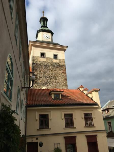 Im Bild: der Schwarze Turm in Loket