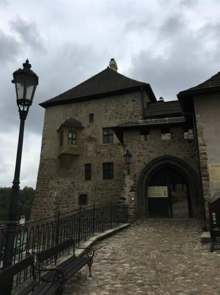 Burg Loket bei Karlsbad in Tschechien - Ausflug