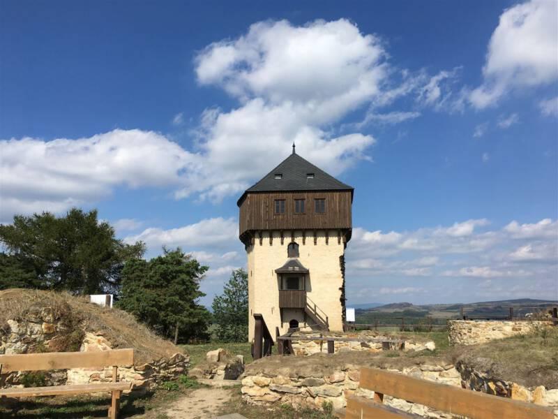 Das ehemalige Burggelände