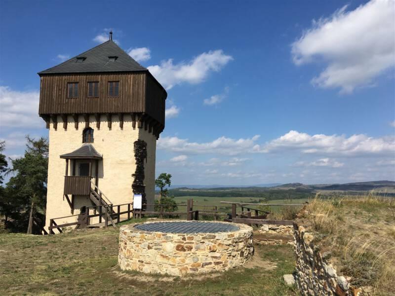 Burg Hartenstein in Bochov