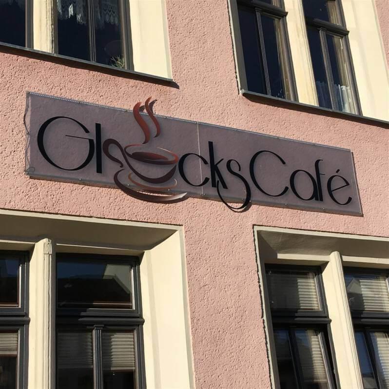 Glücks Café in Auerbach / Sachsen / Vogtland