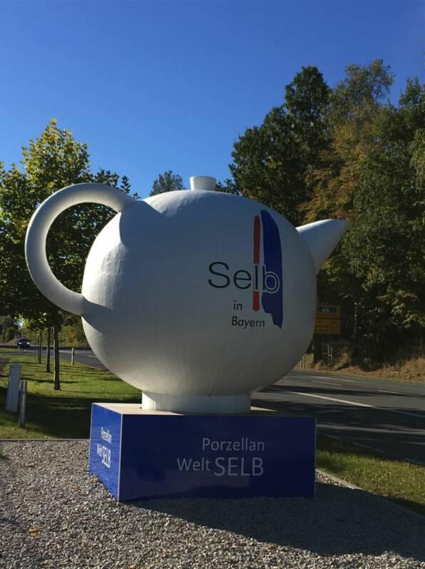 Selb – Unterwegs zwischen Porzellan und Bauhaus