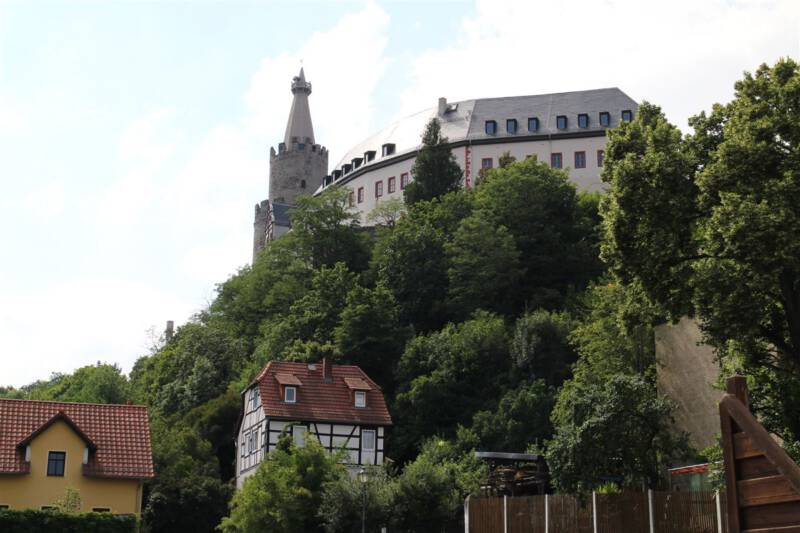 Die Wiege des Vogtlands - die Osterburg in Weida