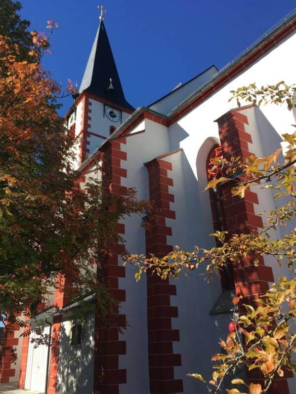 Die Dorfkirche in Pilgramsreuth