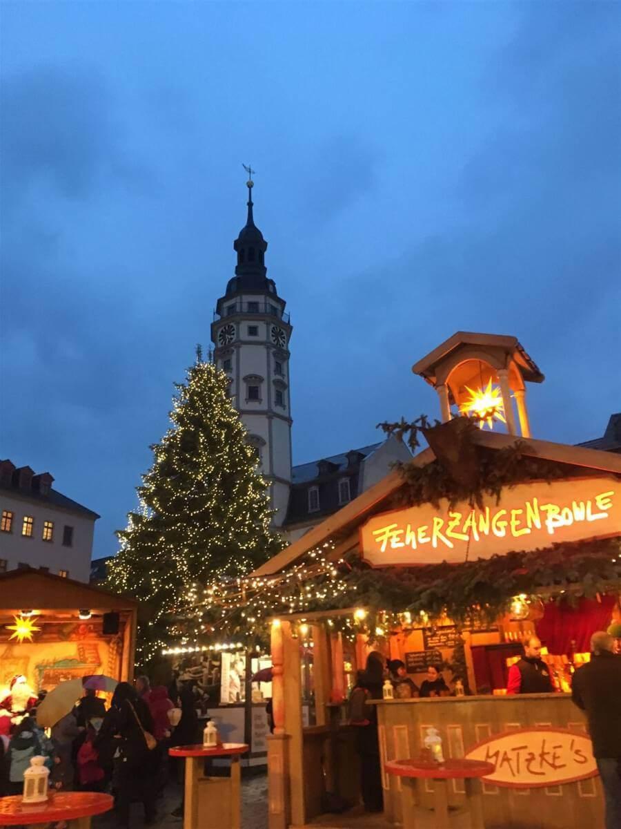Weihnachtsmarkt in Thüringen - Der Märchenmarkt in Gera
