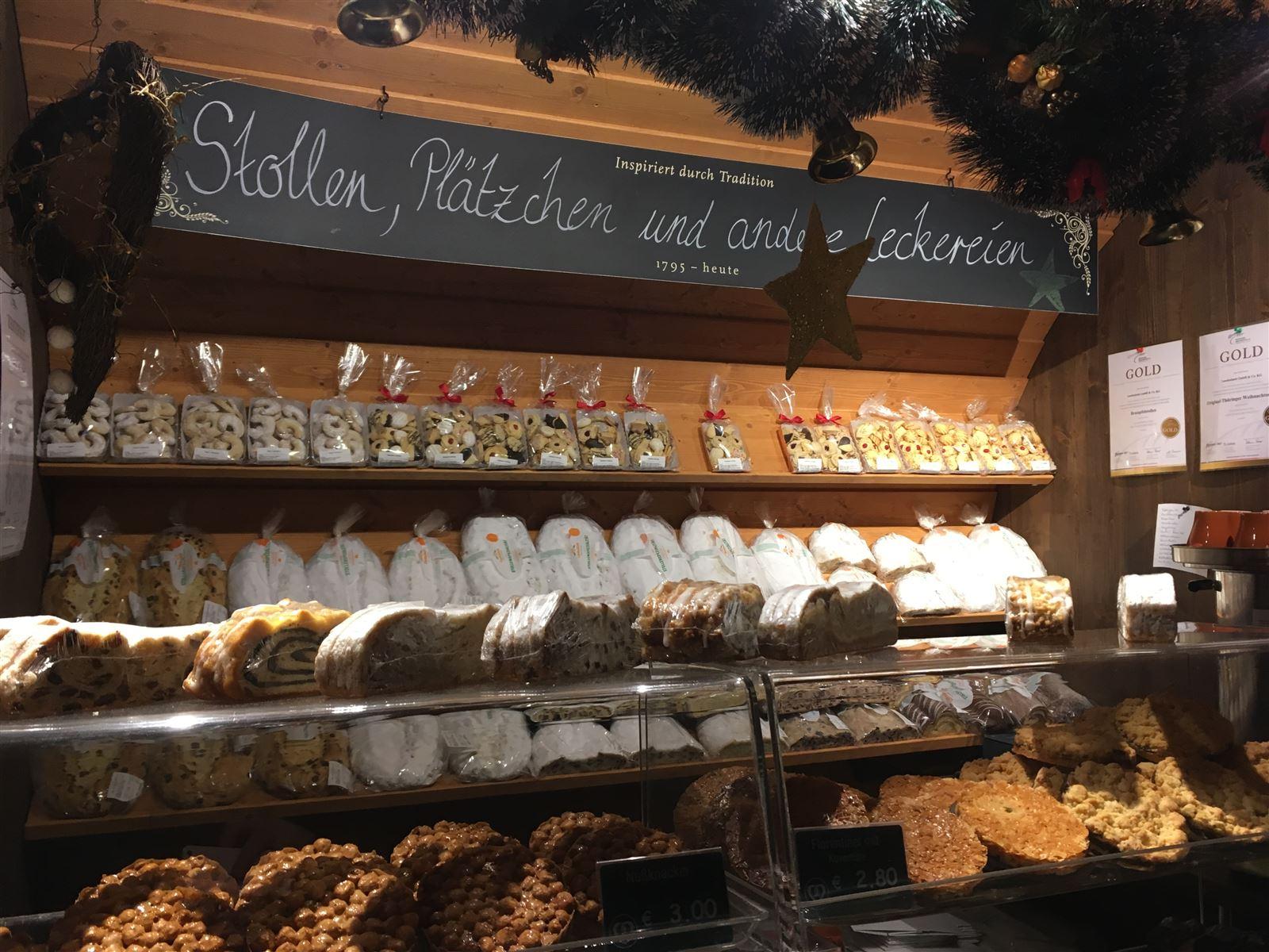 Angebot auf dem Weihnachtsmarkt Gera