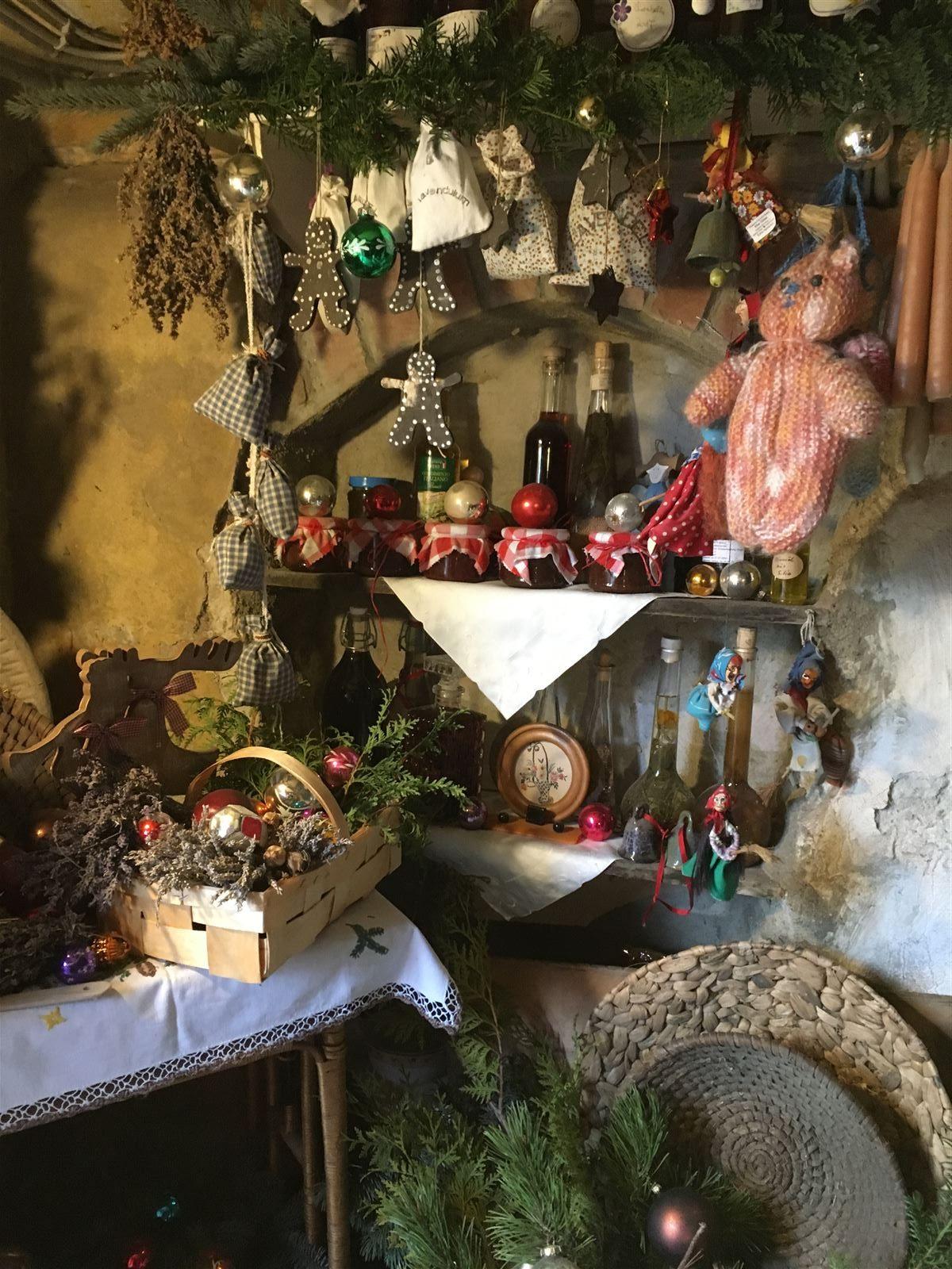 Weihnachtsmarkt in den Weberhäusern in Plauen - Vogtland - Sachsen