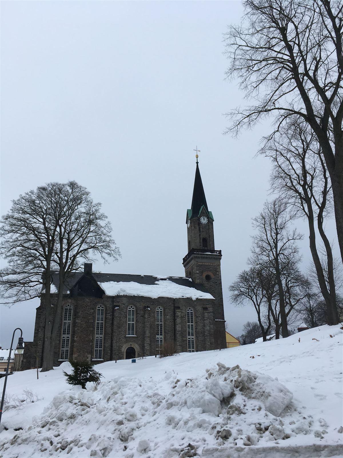 Ausflug nach Schöneck - Kirche St. Georg