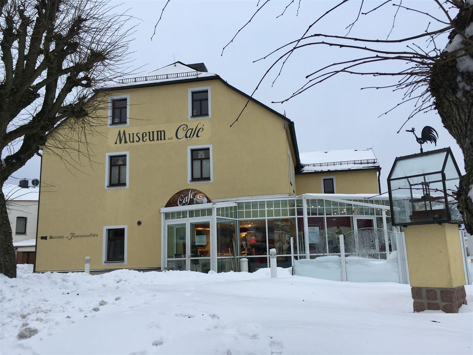 Ausflug im Winter nach Schöneck - Zigarren- und Heimatmuseum