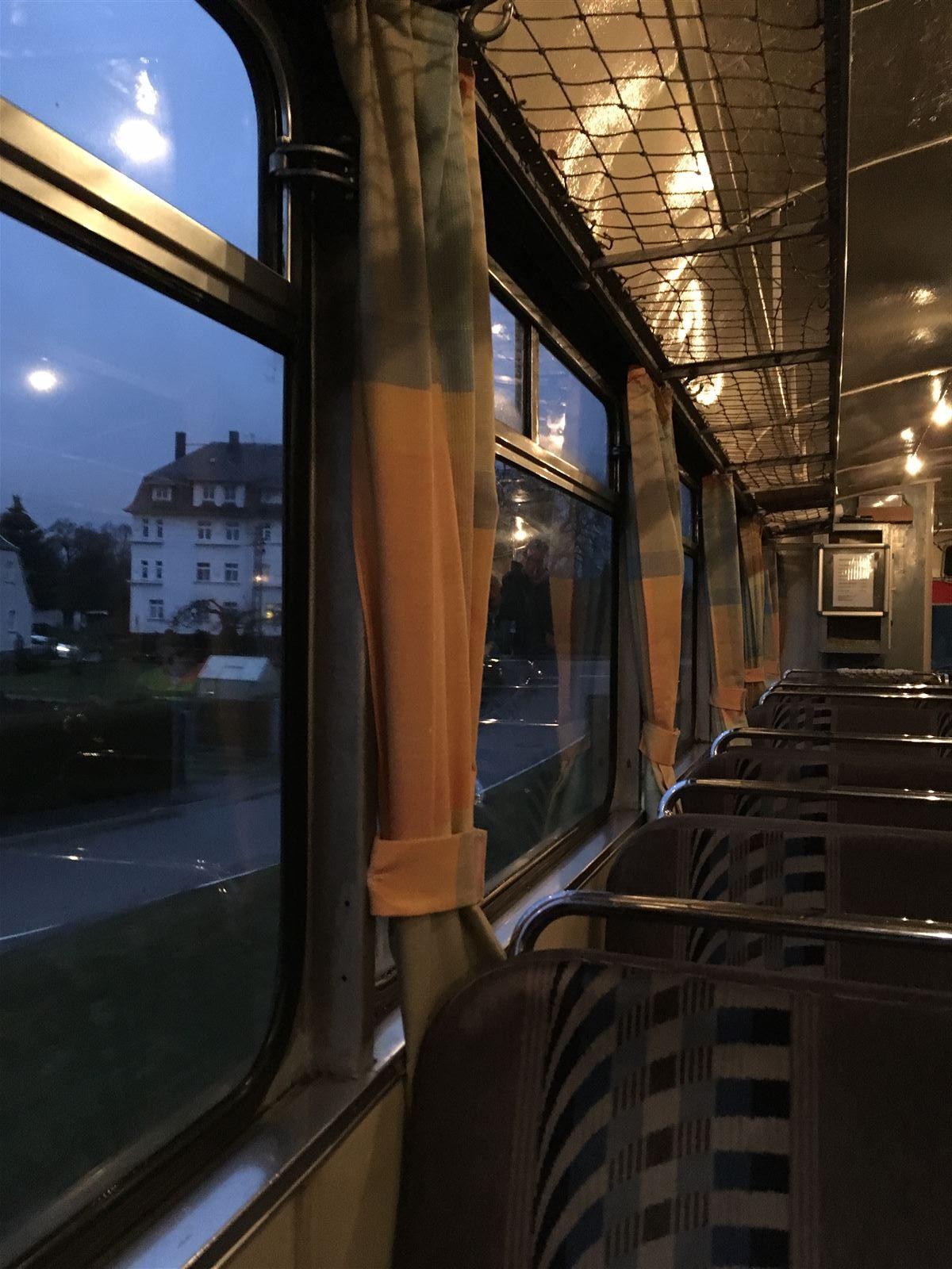 Ausflug: nostalgische Bahnfahrt mit der Wisentatalbahn von Sachsen nach Thüringen und wieder zurück