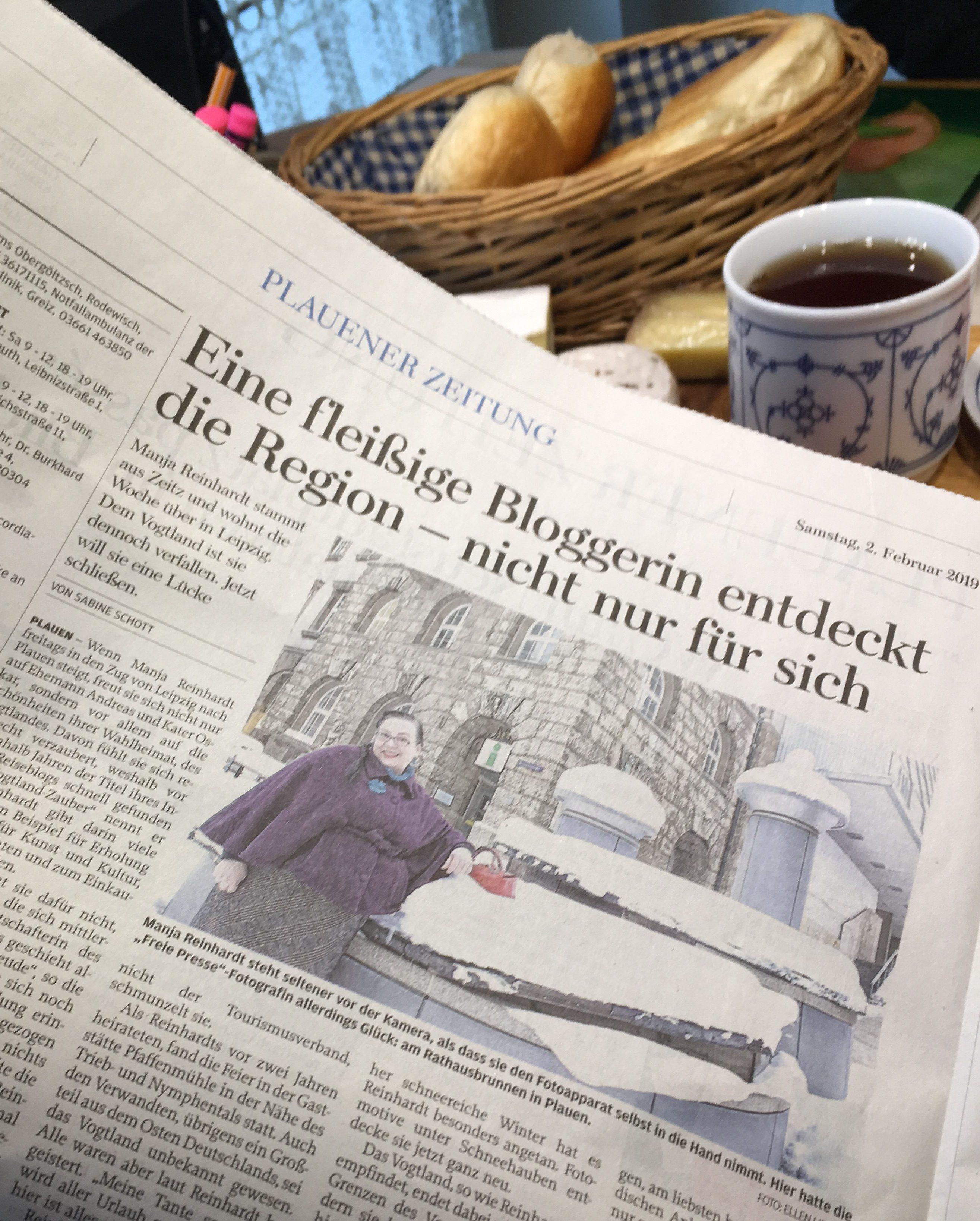 Artikel in der Freien Presse