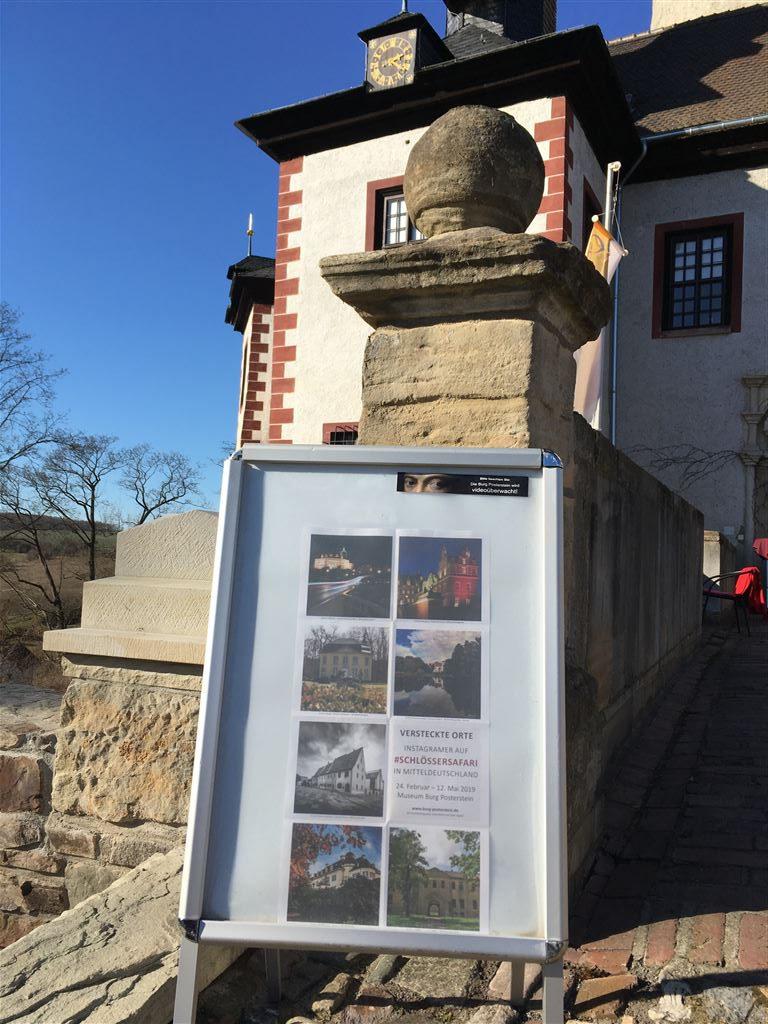 Versteckte Orte - die Ausstellung auf Burg Posterstein