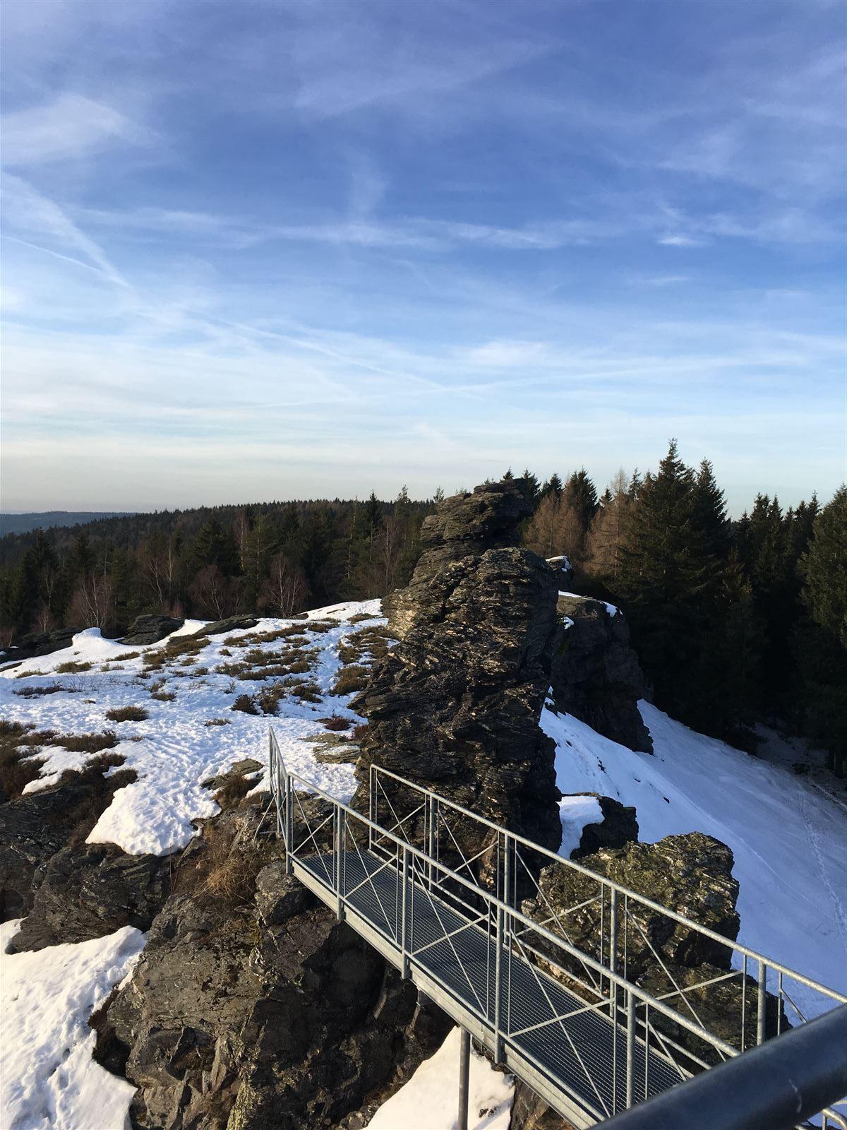 Hoher Stein - Wanderung / Vogtland / Sachsen / Tschechien / Vysoky Kamen