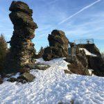 Wanderung zum Hohen Stein mit einem grandiosen Ausblick