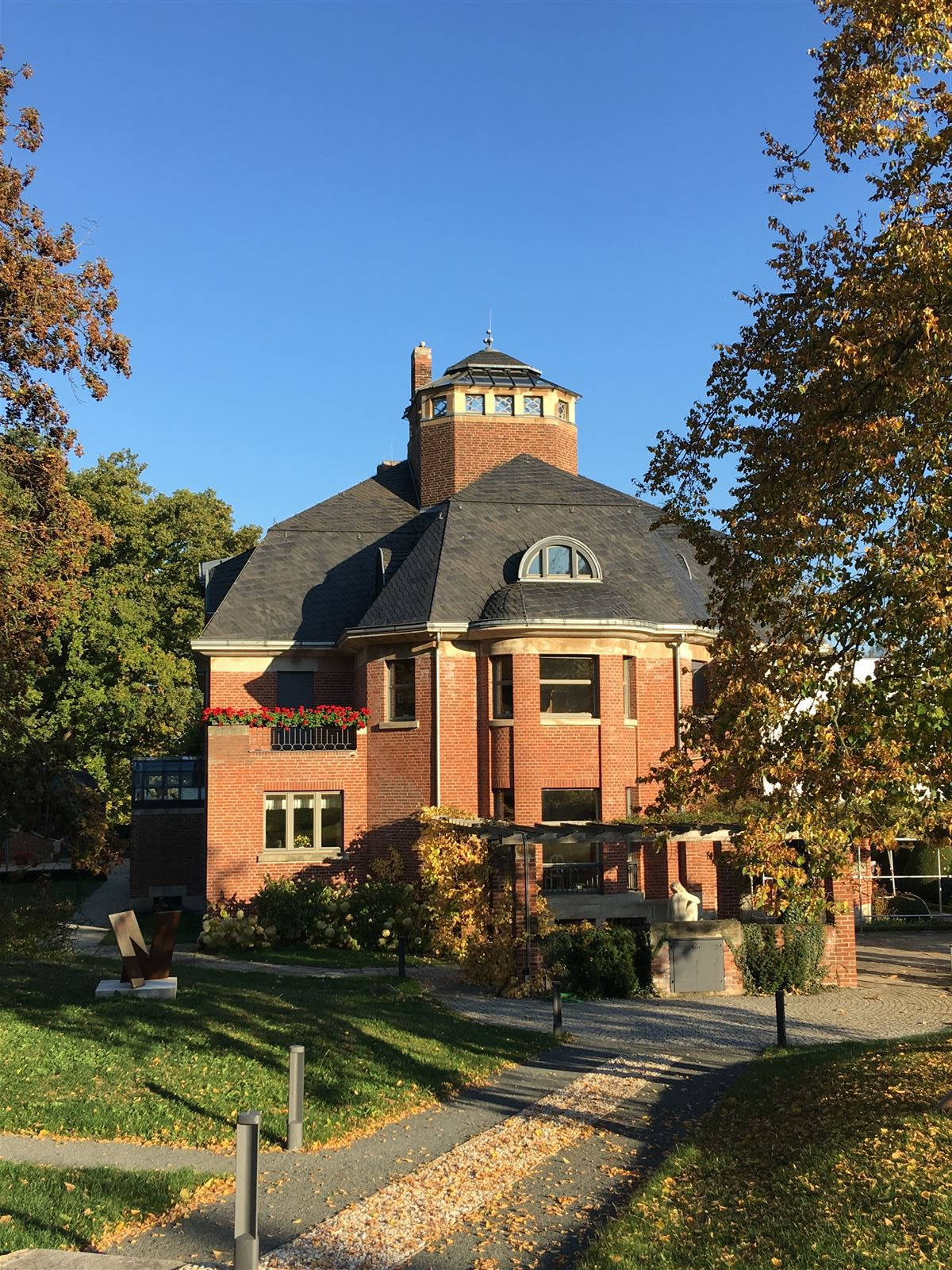 Ausflug - Haus Schulenburg von Henry van de Velde in Gera