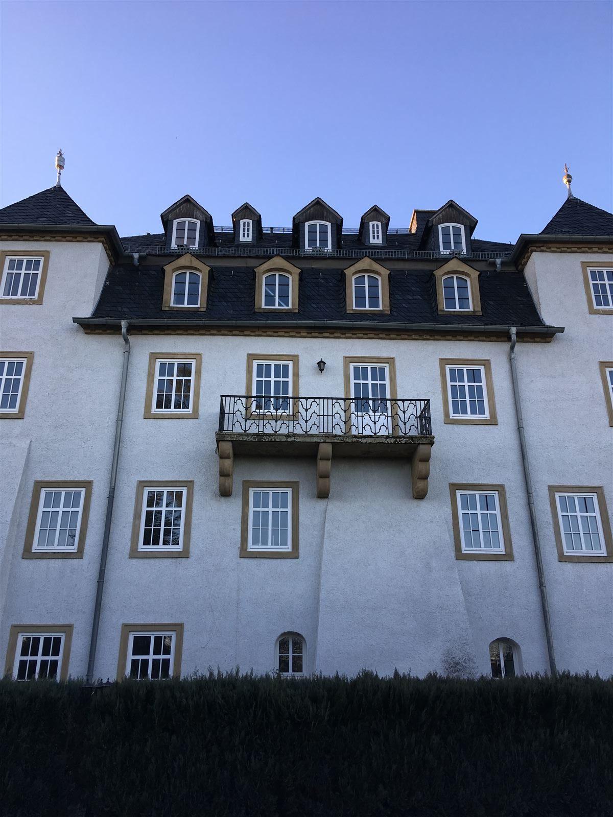 Blick zum Rittergut Heinersgrün im Vogtland