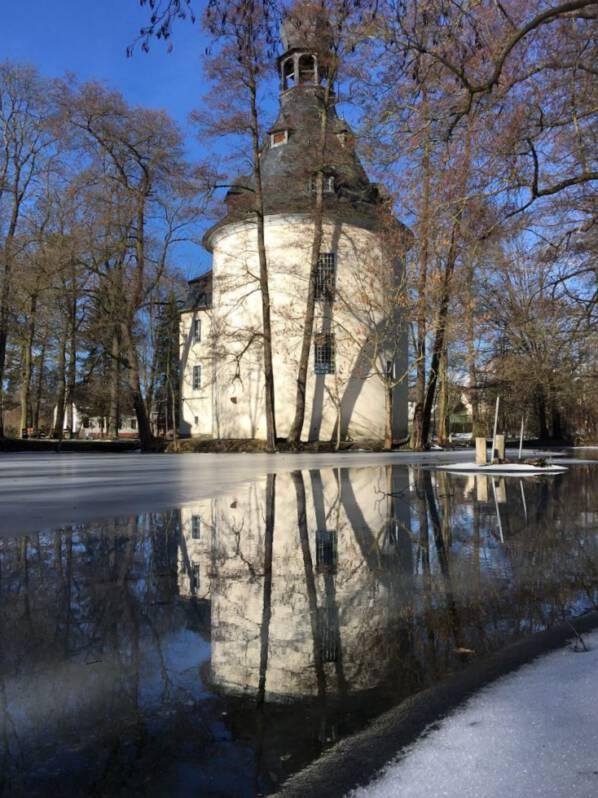 Die Kapelle von Kauschwitz in der Nähe von Plauen