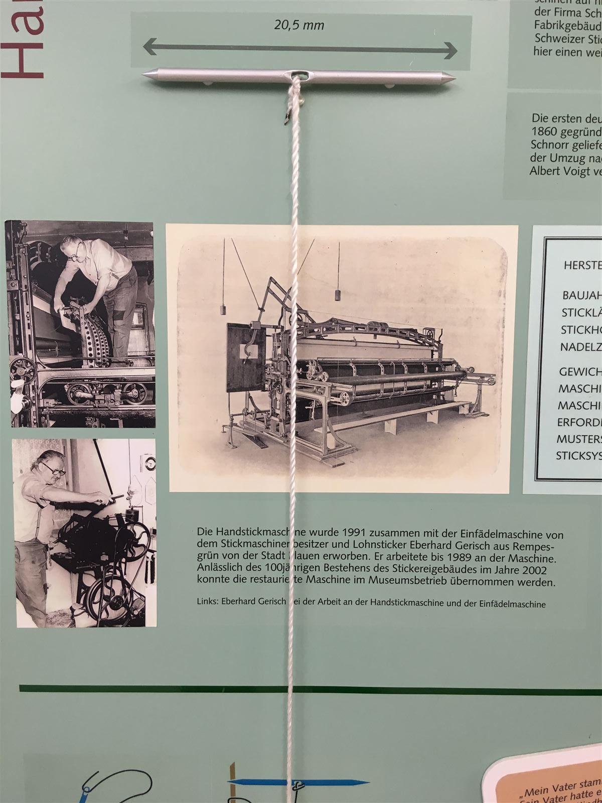Museum der Industriekultur - Schaustickerei Plauener Spitze Plauen