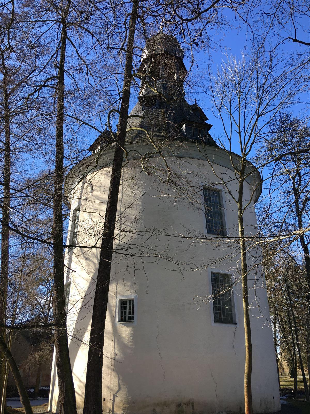 Ausflug zur Kapelle in Kauschwitz in der Nähe von Plauen - der ehemalige Wehrturm