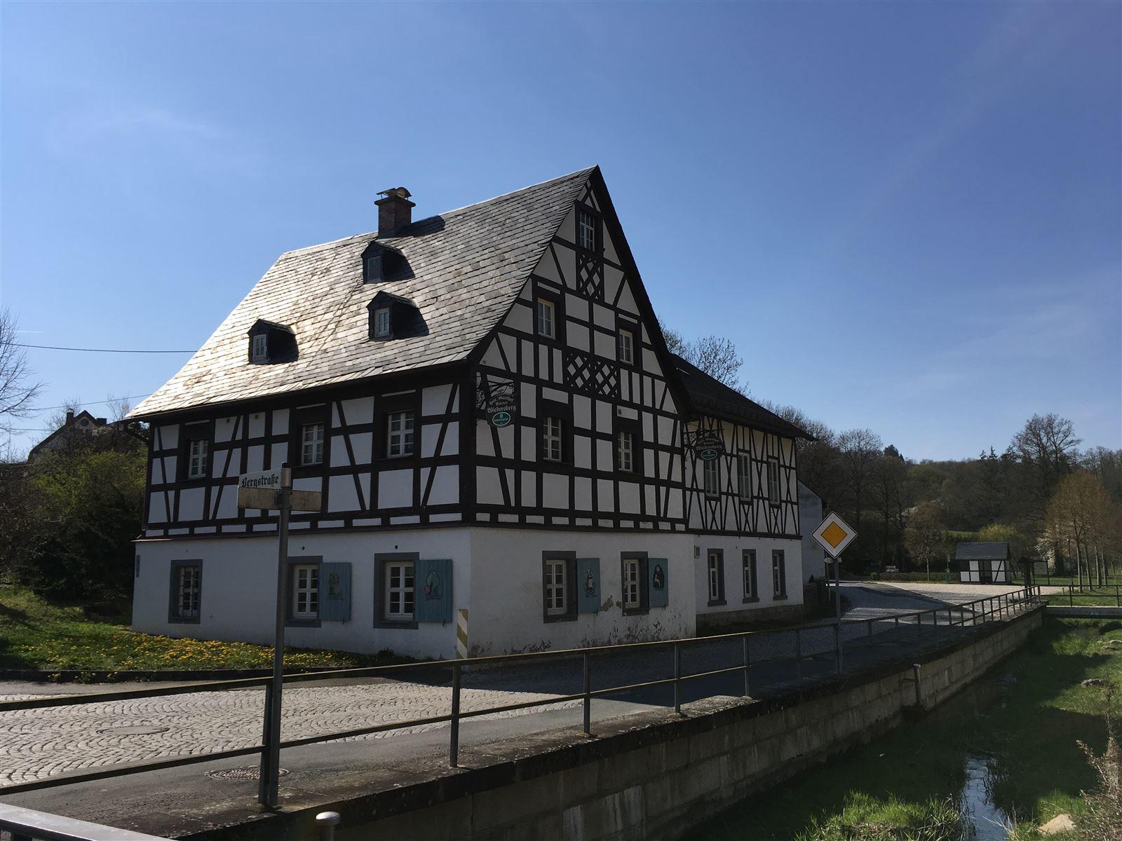 Der Ort Wiedersberg im Vogtland