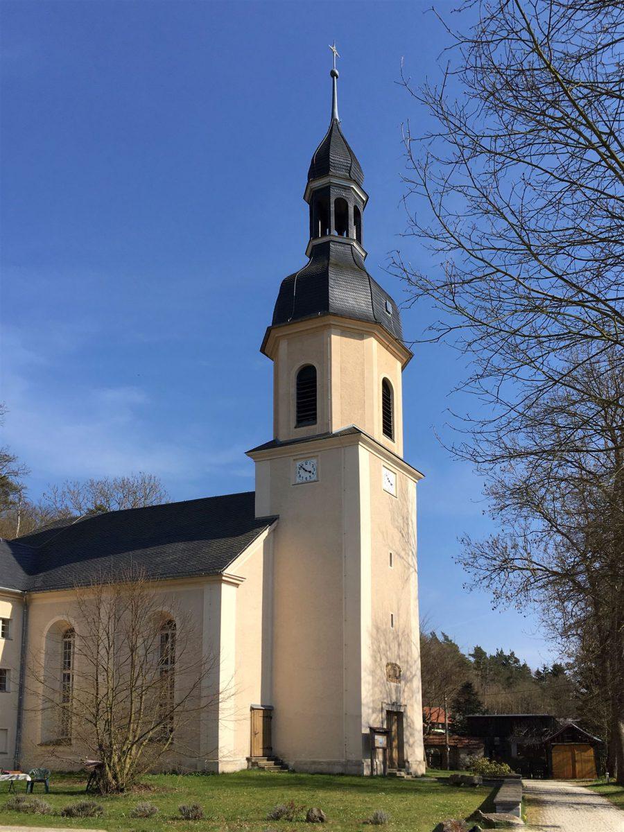 Die Kirche von Wiedersberg