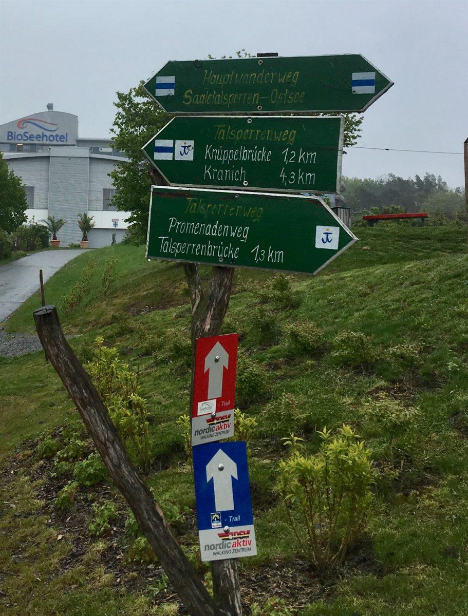Zeulenroda - Bio-Seehotel - Wandern