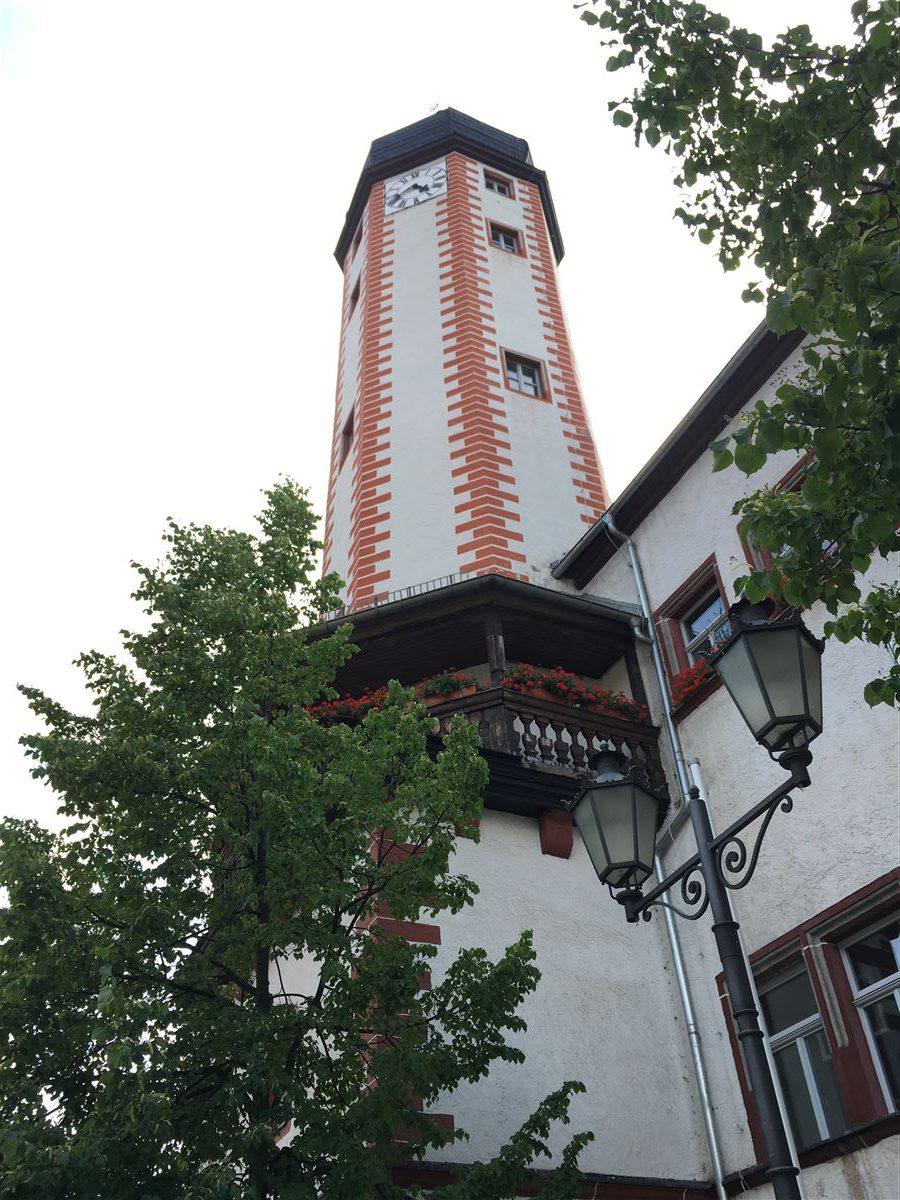 Stadtrundgang auf dem Kulturweg der Vögte durch Weida - Rathaus