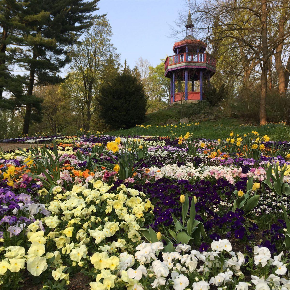 Ausflug zum Theresienstein in Hof - Die Thomashöhe mit Pavillon