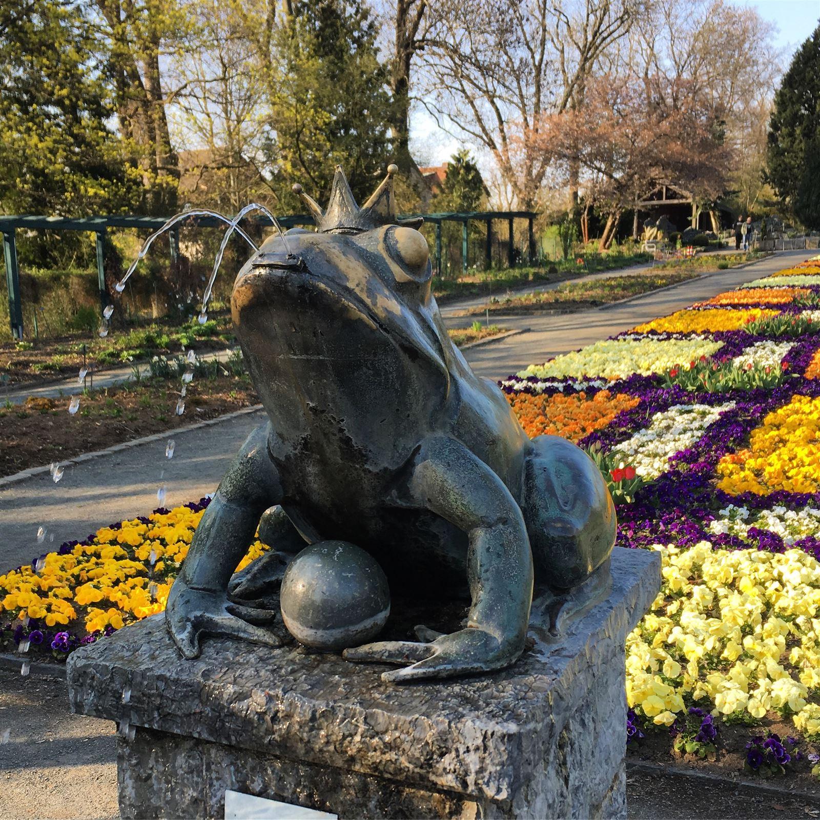 Ausflug in den Botanischen Garten in Hof / Bayern