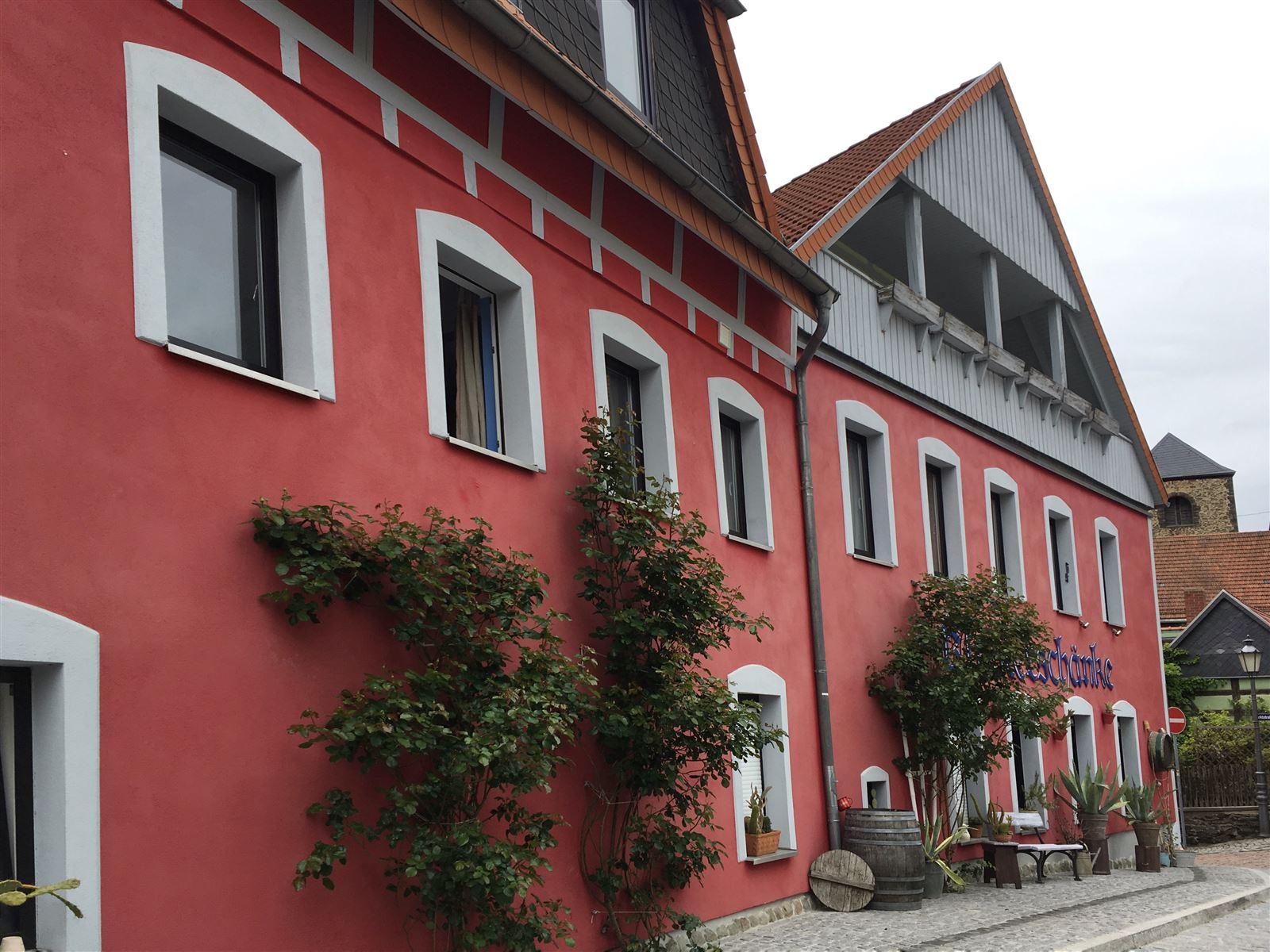 Stadtrundgang auf dem Kulturweg der Vögte durch Weida - Klosterschänke