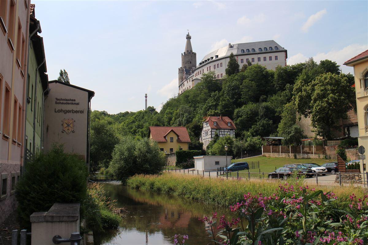 Stadtrundgang auf dem Kulturweg der Vögte durch Weida