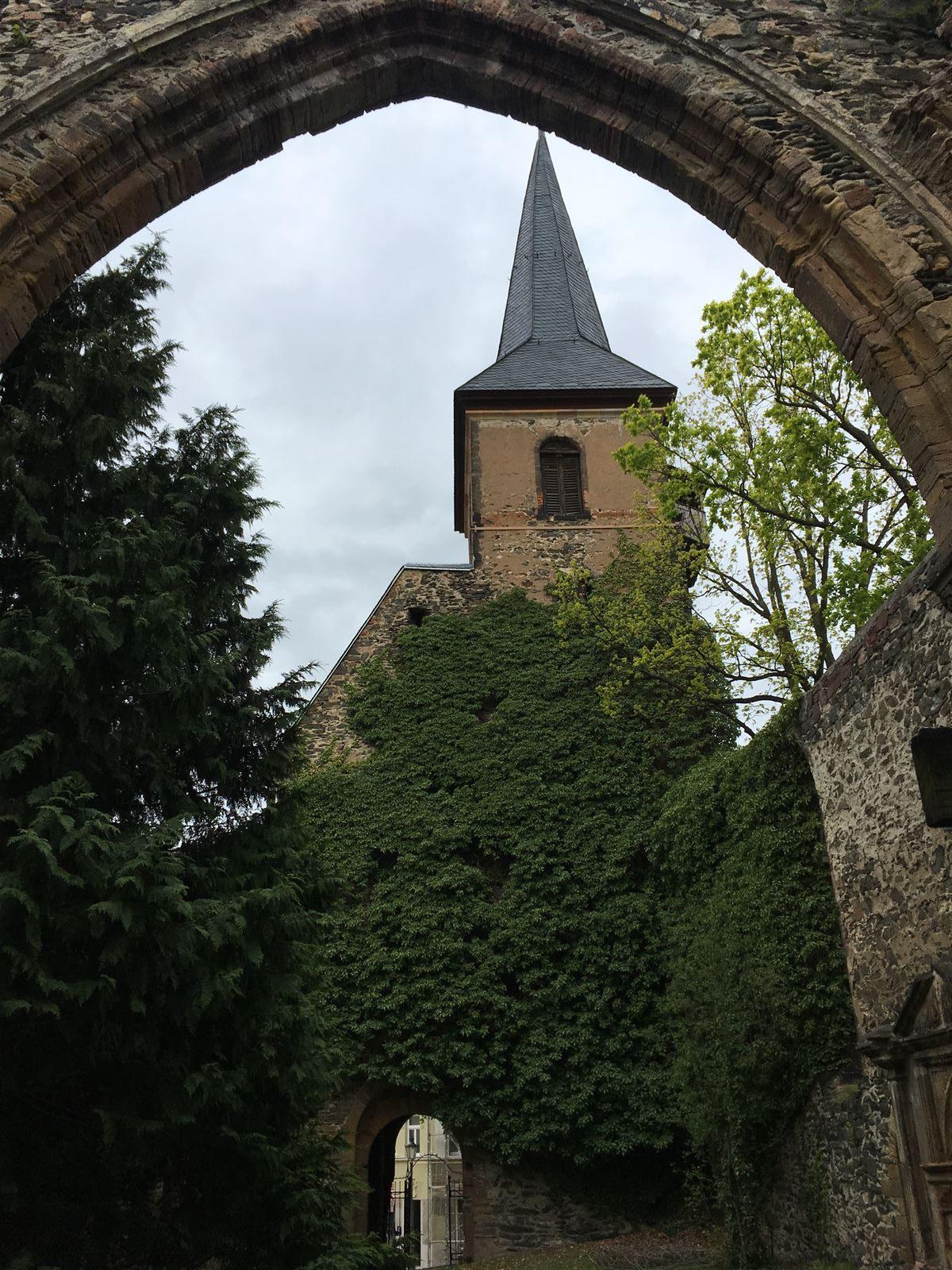 Stadtrundgang auf dem Kulturweg der Vögte durch Weida - Widenkirche