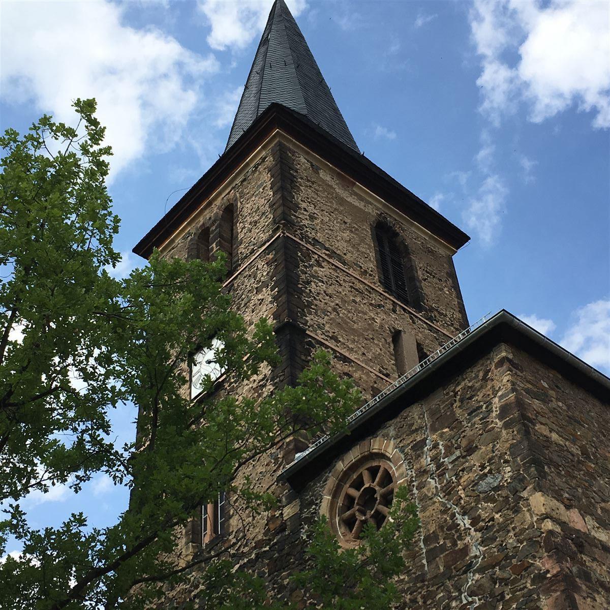 Die Ruine der Widenkirche in Weida