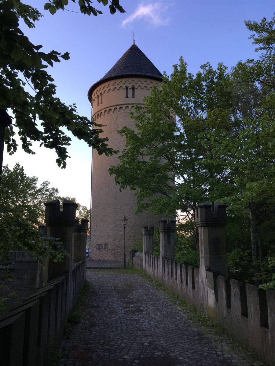 Ausflug - Spaziergang durch Gera Untermhaus - Turm Schloss Osterstein