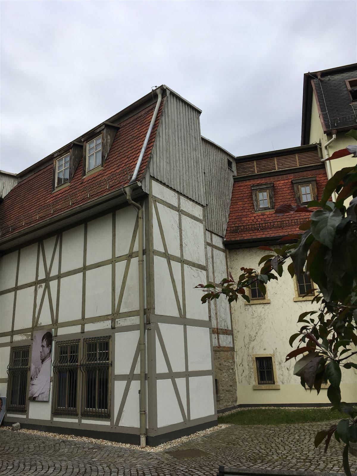 Ausflug - Spaziergang durch Gera Untermhaus - Marienkirche - Mohrenplatz - Otto-Dix-Haus