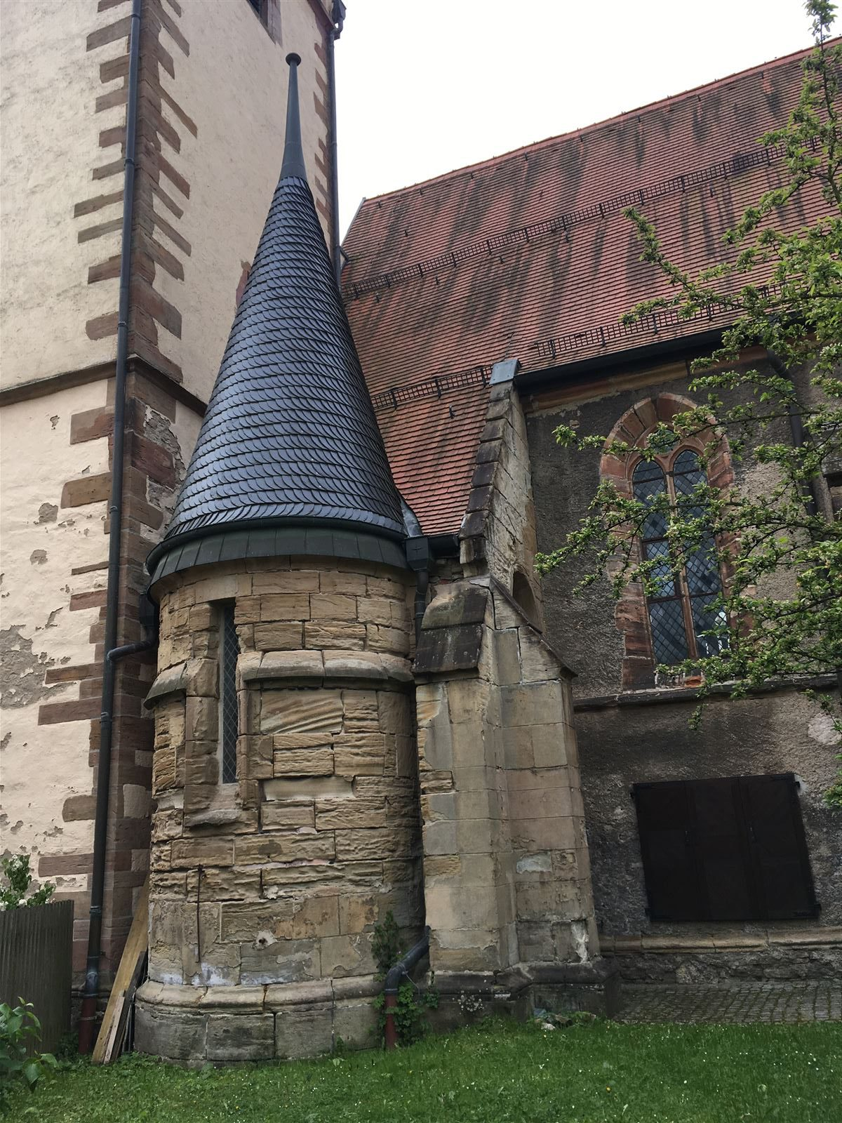 Ausflug - Spaziergang durch Gera Untermhaus - Marienkirche