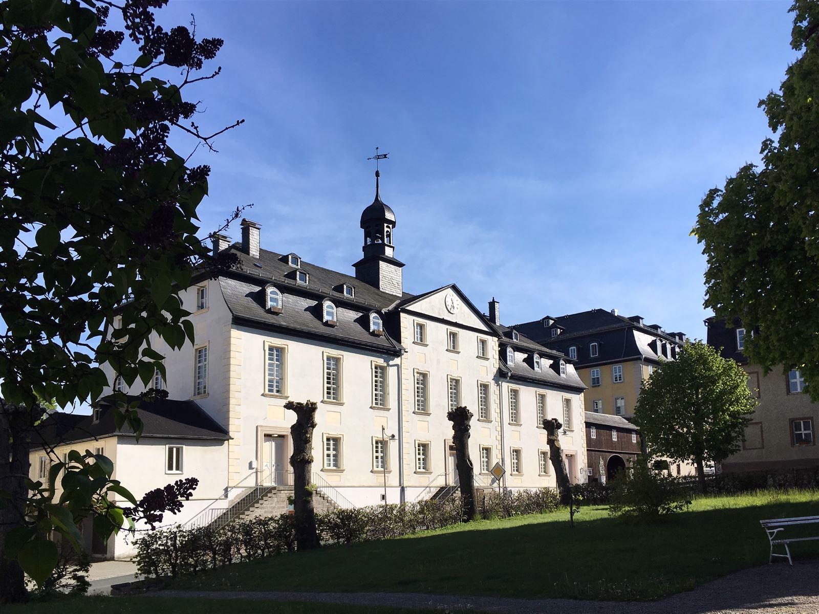 Ausflug: Landschaftspark Ebersdorf - Thüringen - nahe der Bleilochtalsperre - Gemeindehaus Herrenhuter Brüdergemeinde
